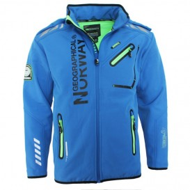 GEOGRAPHICAL NORWAY bunda pánská softshell RIVOLI DRY TECH 5000