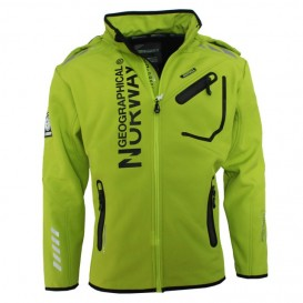 GEOGRAPHICAL NORWAY bunda pánska softshell RIVOLI DRY TECH 5000