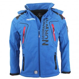 GEOGRAPHICAL NORWAY bunda pánská softshell TECHNO