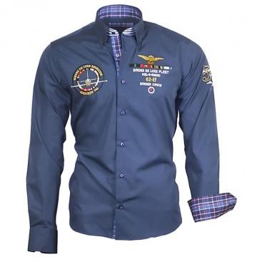 BINDER DE LUXE košile pánská 82105 s dlouhým rukávem