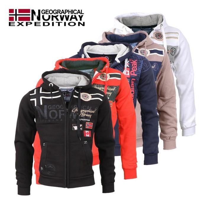 GEOGRAPHICAL NORWAY mikina pánska GARADOCK - WALKHARD.CZ - Funkční ... 83eafa8272c