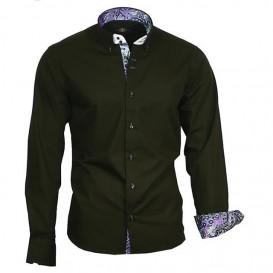 BINDER DE LUXE košile pánská 86005 s dlouhým rukávem paisley