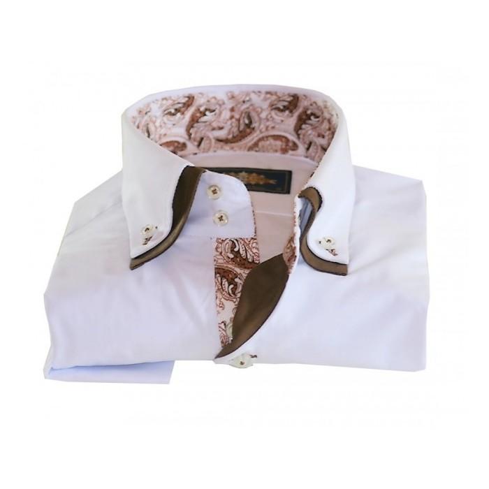 953193912fc BINDER DE LUXE košile pánská 81711 s dlouhým rukávem paisley ...