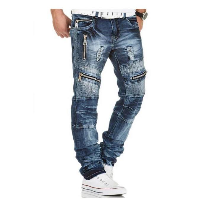 281f1bb163f9 KOSMO LUPO LUPO džínsové nohavice pánske KM136 džínsy - WALKHARD.CZ ...
