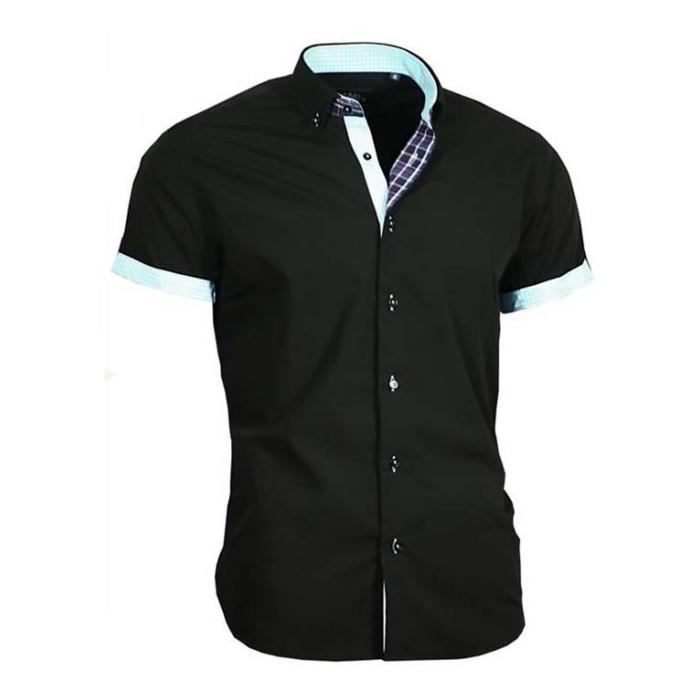 d55f2603568 BINDER DE LUXE košile pánská 83313 s krátkým rukávem - WALKHARD.CZ ...