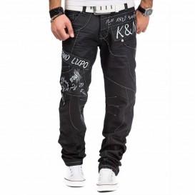 KOSMO LUPO kalhoty pánské KM322-1 džíny
