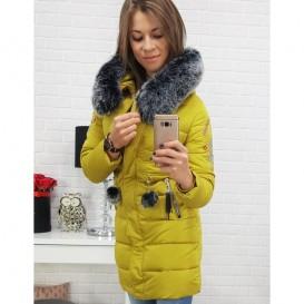 DStreet bunda dámská zimní (ty0405) s výšivkami