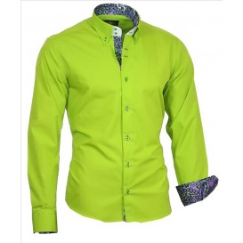 BINDER DE LUXE košile pánská 86004 s dlouhým rukávem paisley