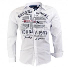 GEOGRAPHICAL NORWAY košile pánská ZOLDUC MEN 100