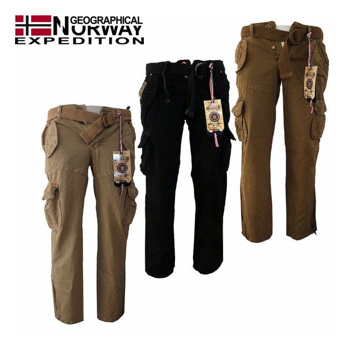 84f2fb3c17b9 GEOGRAPHICAL NORWAY nohavice pánske POUVOIR PANT MEN 063 kapsáče ...