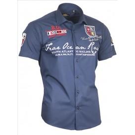 BINDER DE LUXE košile pánská 80606 s krátkým rukávem