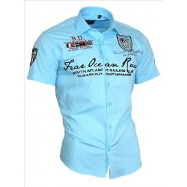 BINDER DE LUXE košile pánská 80603 s krátkým rukávem