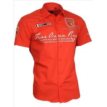 BINDER DE LUXE košile pánská 80604 s krátkým rukávem