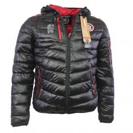 CANADIAN PEAK bunda pánská zimní s kapucí se sluchátky BALASKO